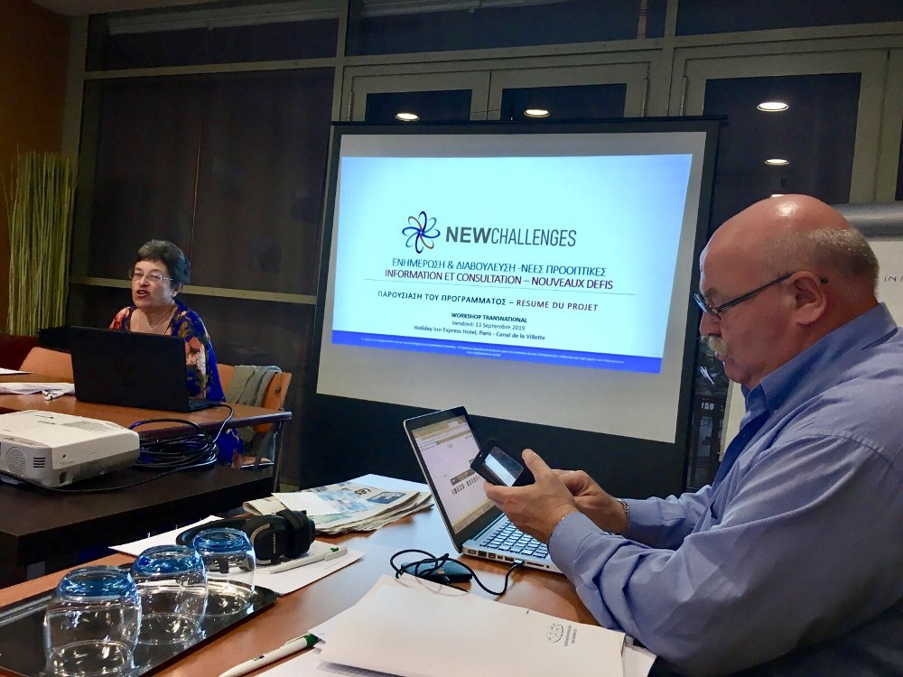 NewChallenges Transnational Workshop Paris 13092019